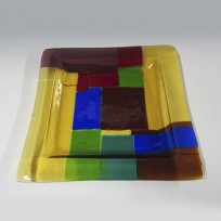 Fused Glass platter 103 SOLD OUT